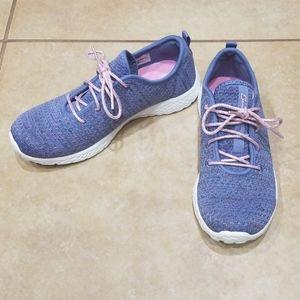 Girls sz 4 Sparkly Purple Shoes